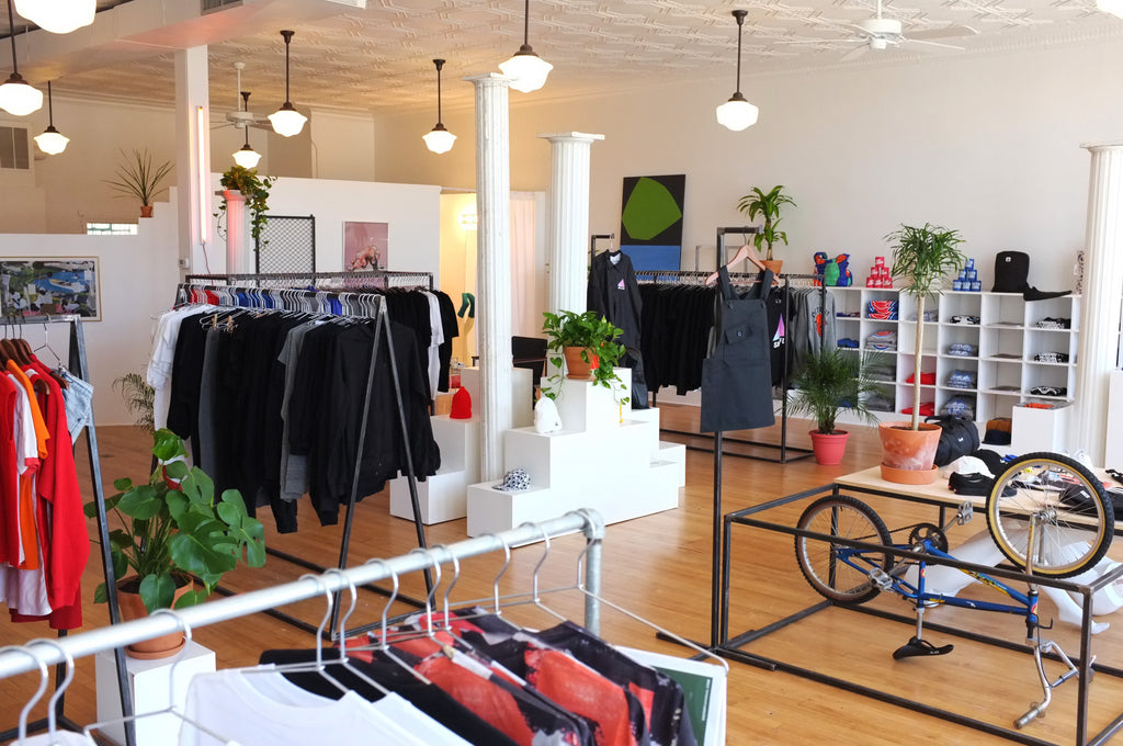 SMPLFD Detroit Store Interior