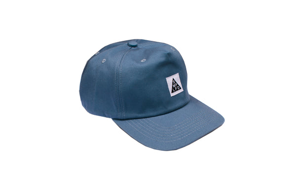 SMPLFD Unstructured 5-Panel | Blue Bleach