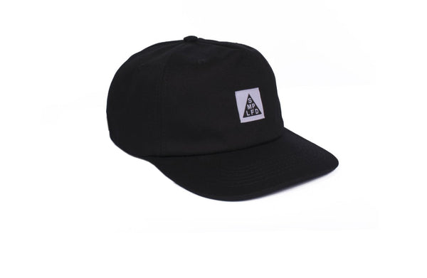 SMPLFD Woven Unstructured 5-Panel | Black