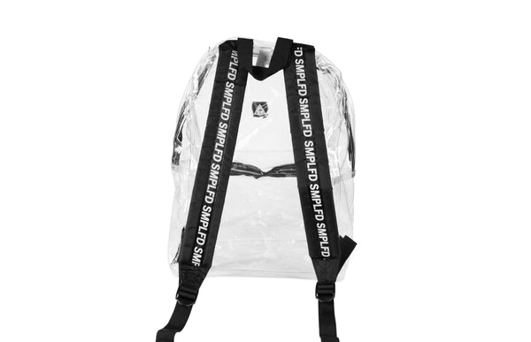 SMPLFD Clear Vinyl Backpack
