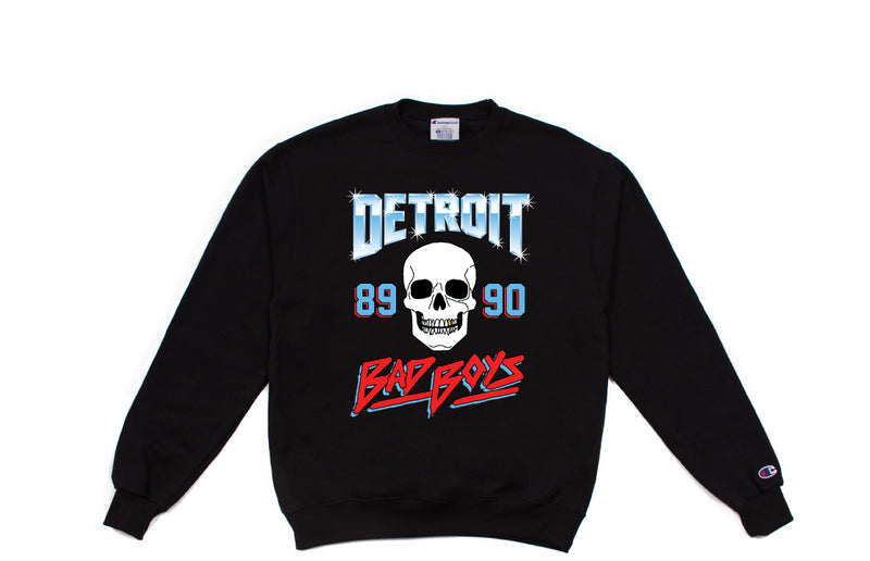Bad Boys Crewneck | Black
