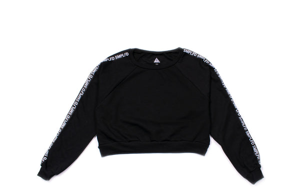 SMPLFD Cropped Crewneck