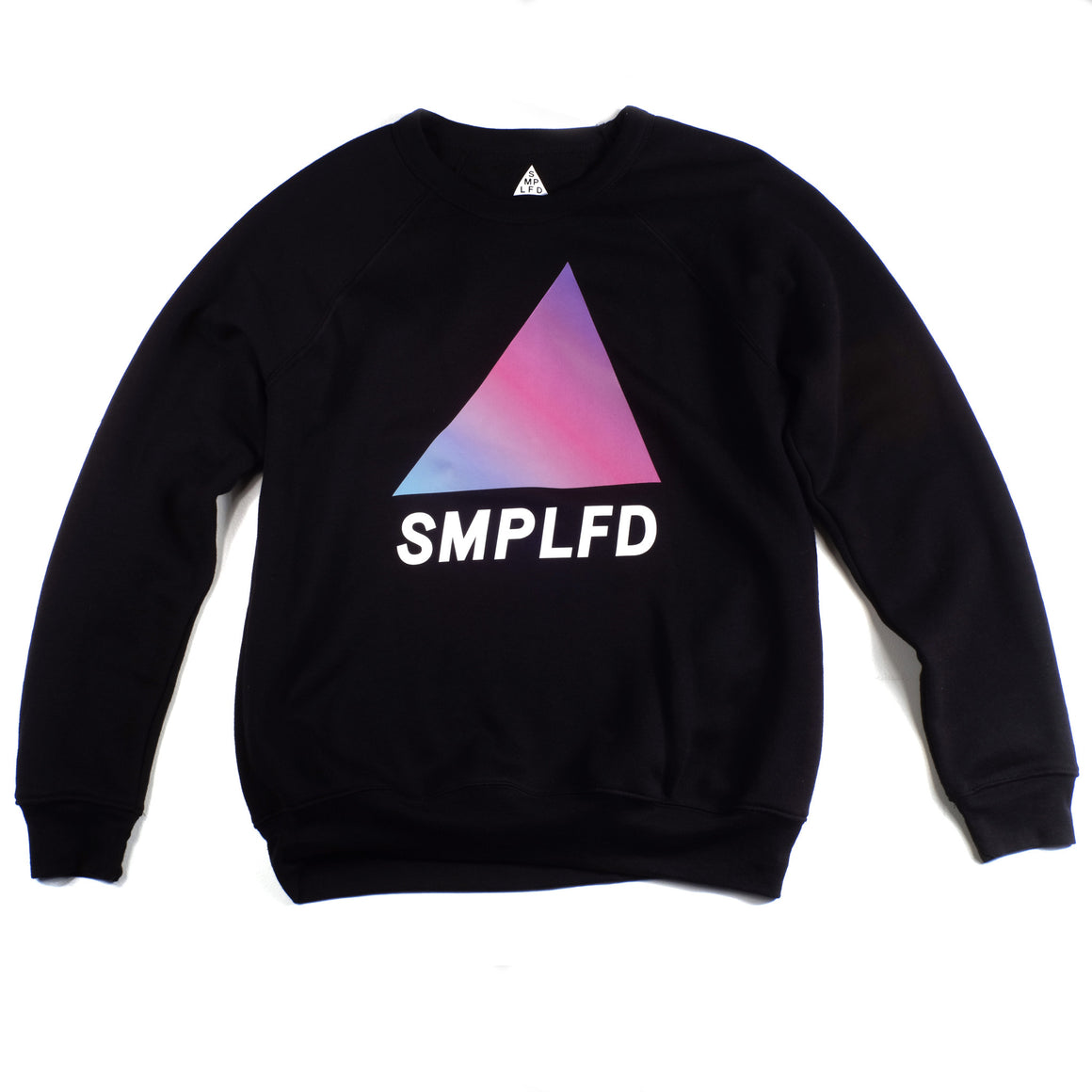 SMPLFD Gradient Crewneck | Black