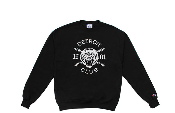 Detroit Club Crewneck