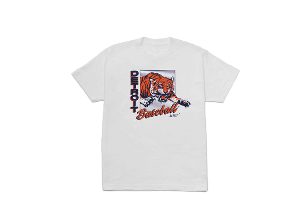 Detroit Baseball T-shirt | White