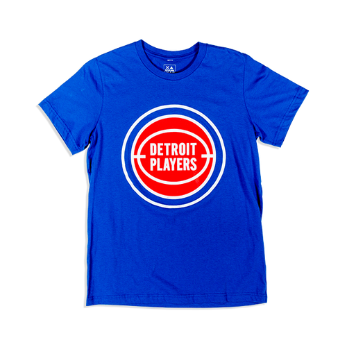 Detroit Players T-shirt Blue