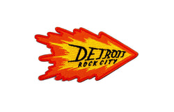 Detroit Rock City Flame Patch