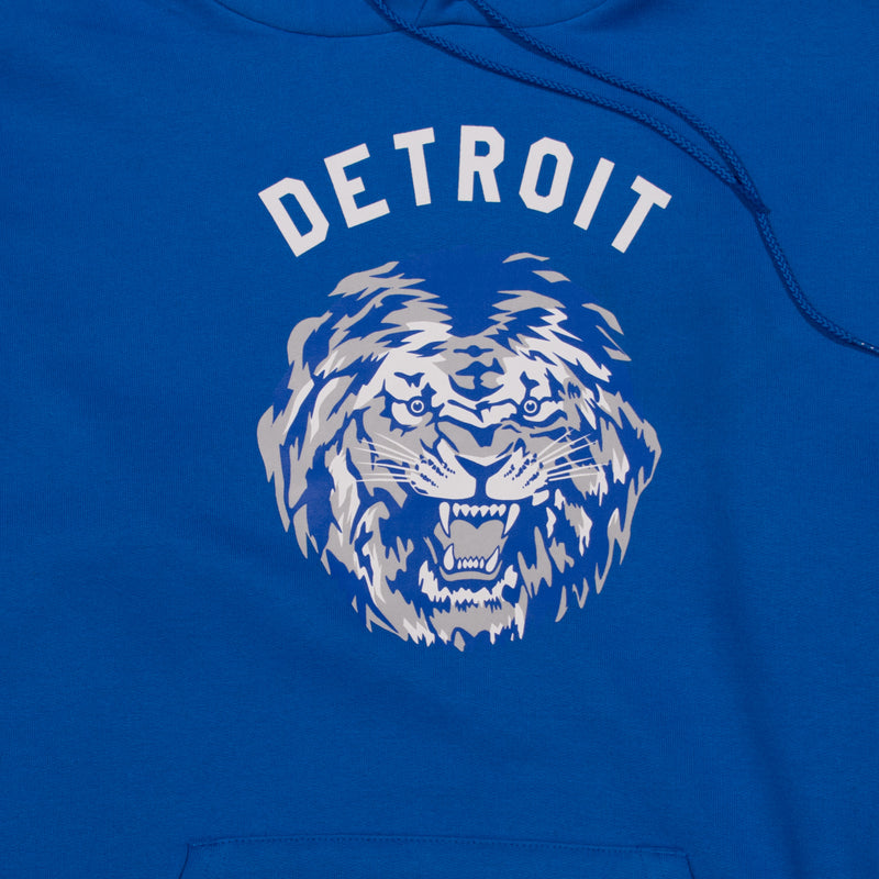 Detroit Football Hoodie | Royal