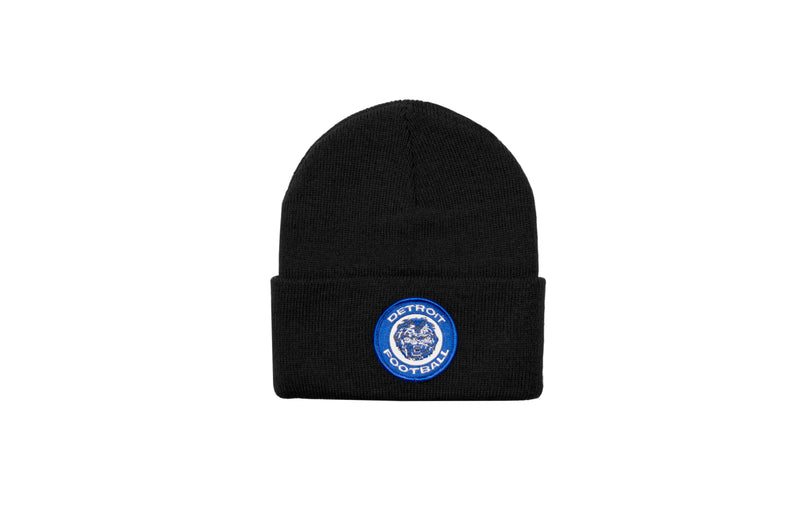 Detroit Football Patch Beanie | Black