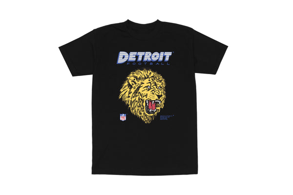 Detroit Football T-shirt | Black