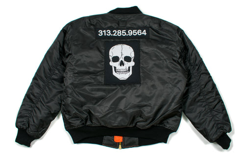 SMPLFD Patched Flight Jacket