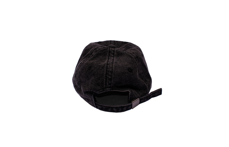 SMPLFD Gradient Unstructured Cap | Black Denim