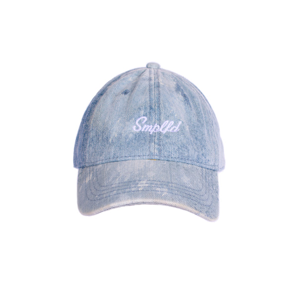 SMPLFD Script Unstructured Dad Cap | Denim