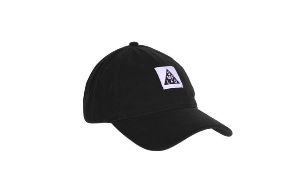 SMPLFD Woven Unstructured Dad Cap | Black
