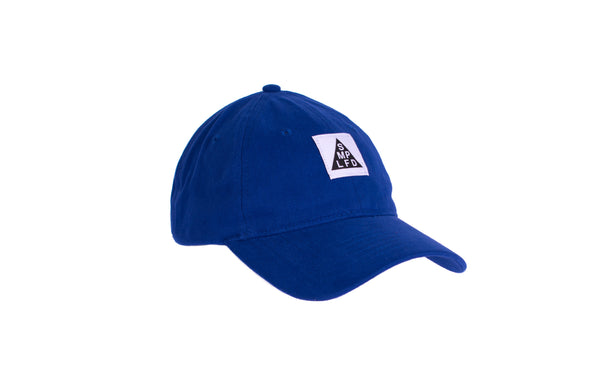 SMPLFD Woven Unstructured Dad Cap | Blue