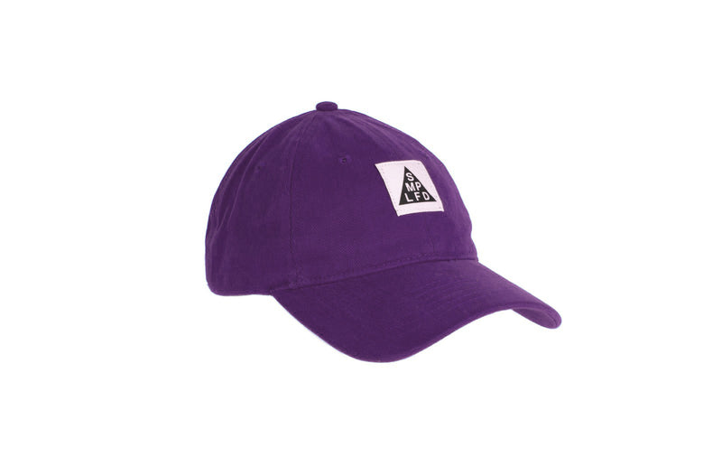 SMPLFD Woven Unstructured Dad Cap | Purple