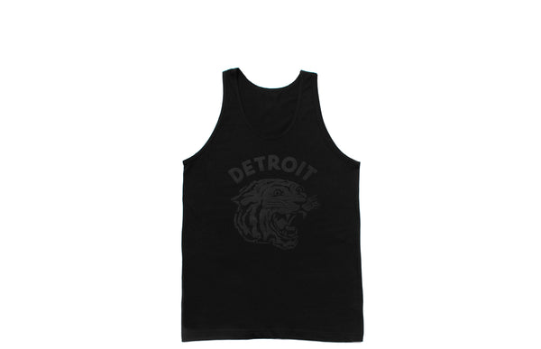 Neo-Tiger Tank Top | Black