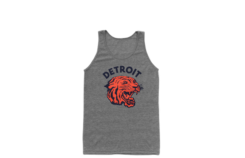 Neo-Tiger Tank Top | Heather Grey