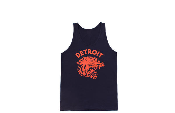 Neo-Tiger Tank Top | Navy