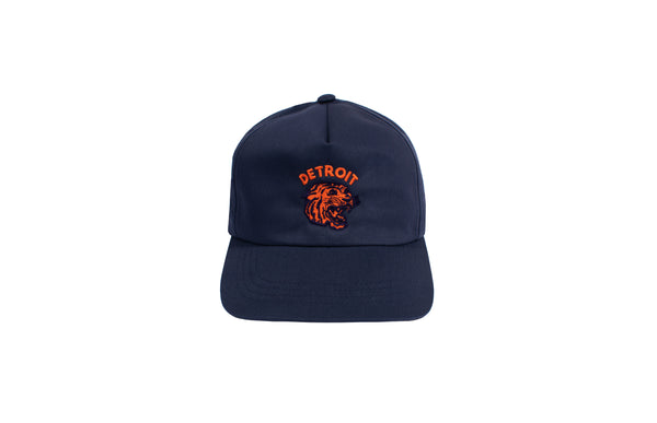 Neo-Tiger 5-Panel Snapback Hat | Navy