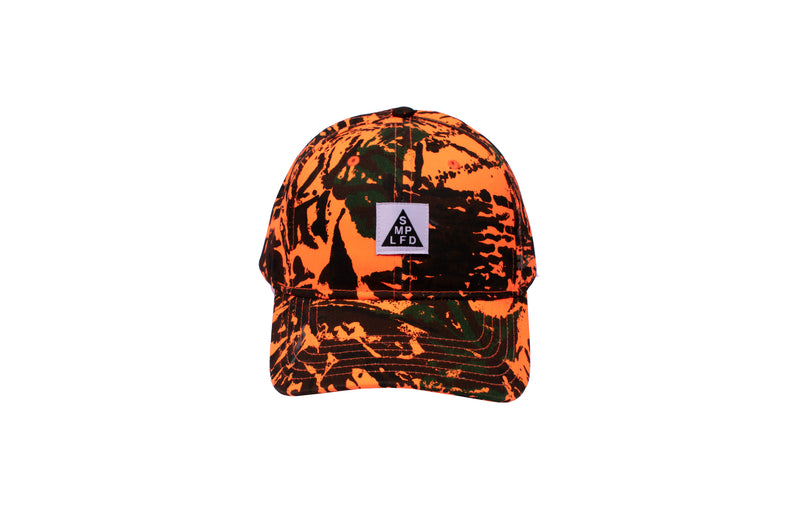 SMPLFD Woven Camo Structured Hat