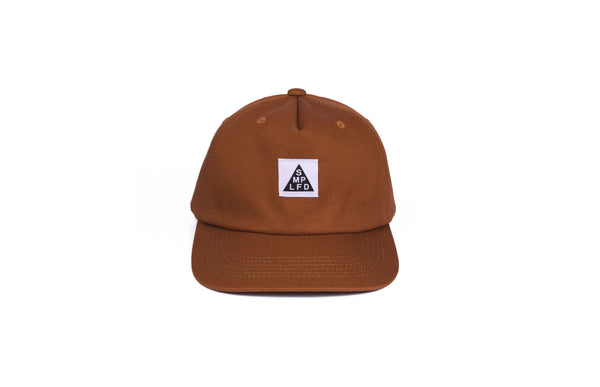 SMPLFD Woven Unstructured 5-Panel | Rust