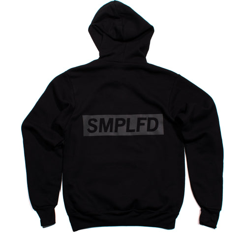 SMPLFD Reflective Pullover Hoodie Back