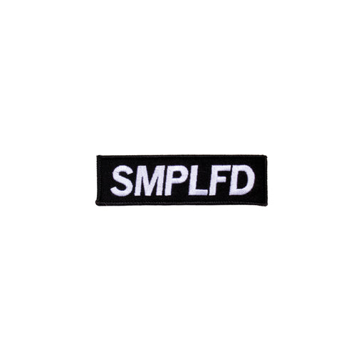 SMPLFD Bar Logo Patch | Large