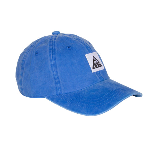 SMPLFD Woven Unstructured Dad Cap | Washed Blue