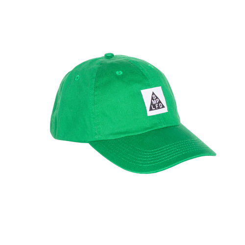SMPLFD Woven Unstructured Dad Cap | Green