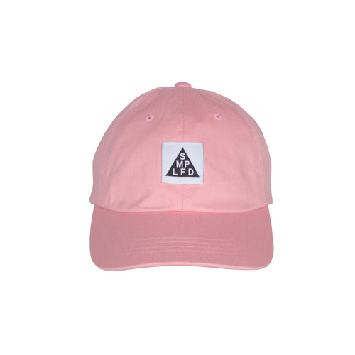 SMPLFD Woven Unstructured Dad Cap | Pink
