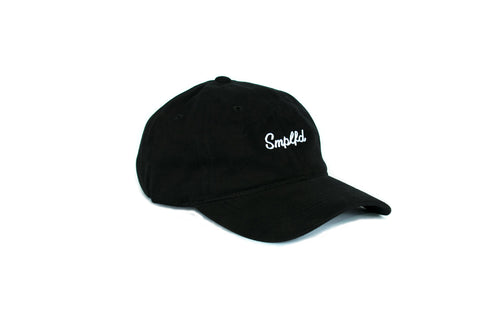 SMPLFD Script Unstructured Hat | Black