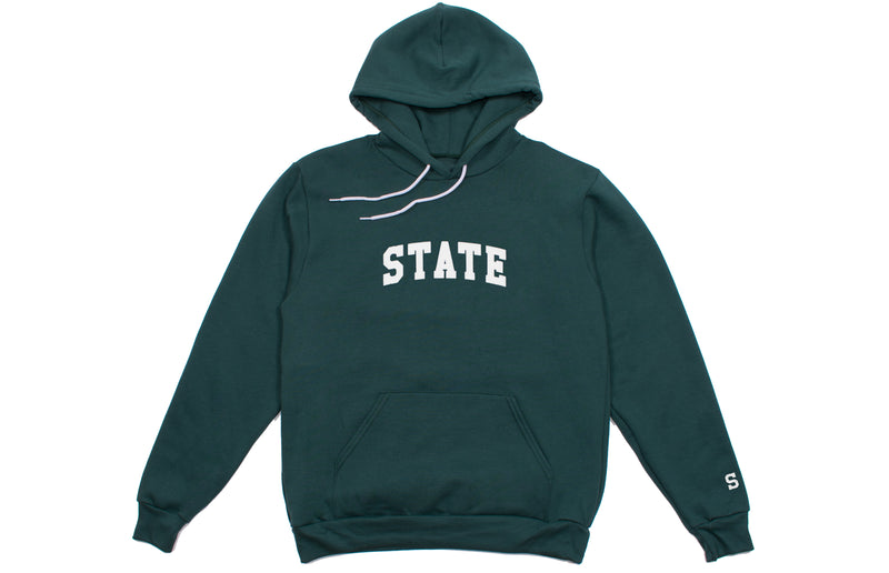 State Hooded Sweatshirt | Green