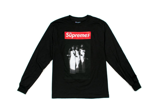 Supremes Black Long Sleeve