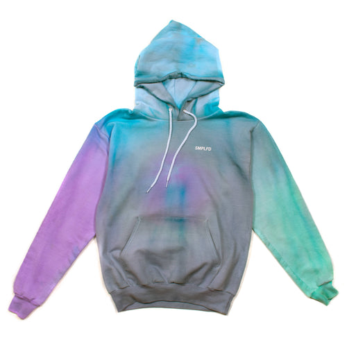SMPLFD Dyed Hooded Sweatshirt