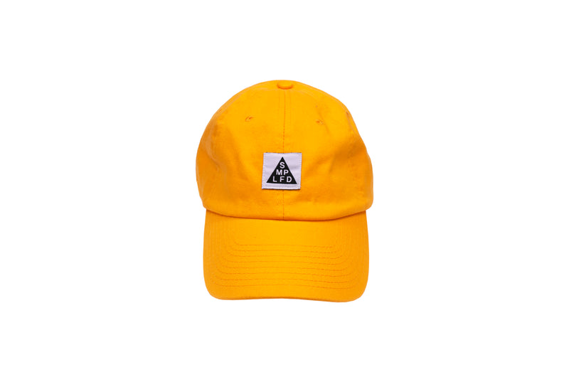 SMPLFD Woven Unstructured Dad Cap | Gold