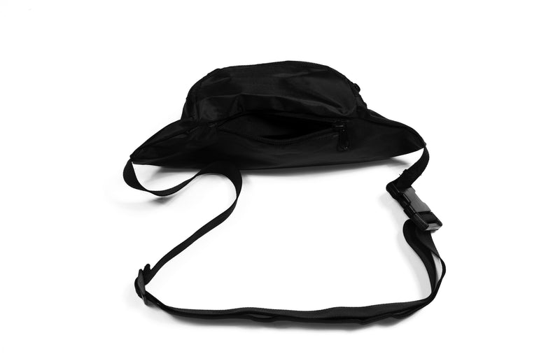 Waist Pack Black | Reflective