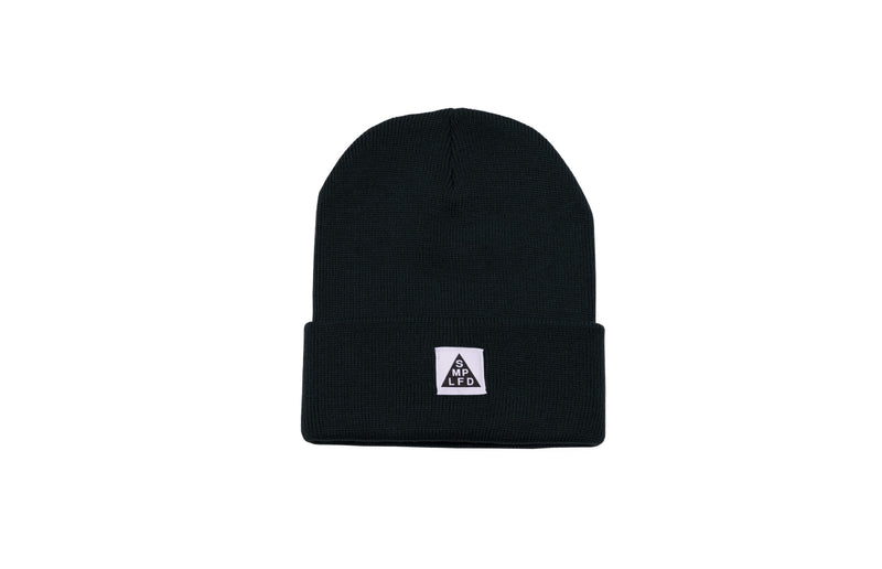 SMPLFD Woven Knit Beanie | Black