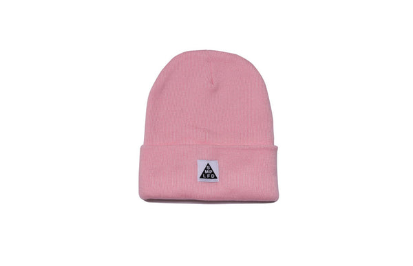 SMPLFD Woven Knit Beanie | Pink