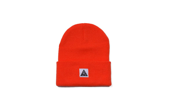 SMPLFD Woven Knit Beanie | Orange