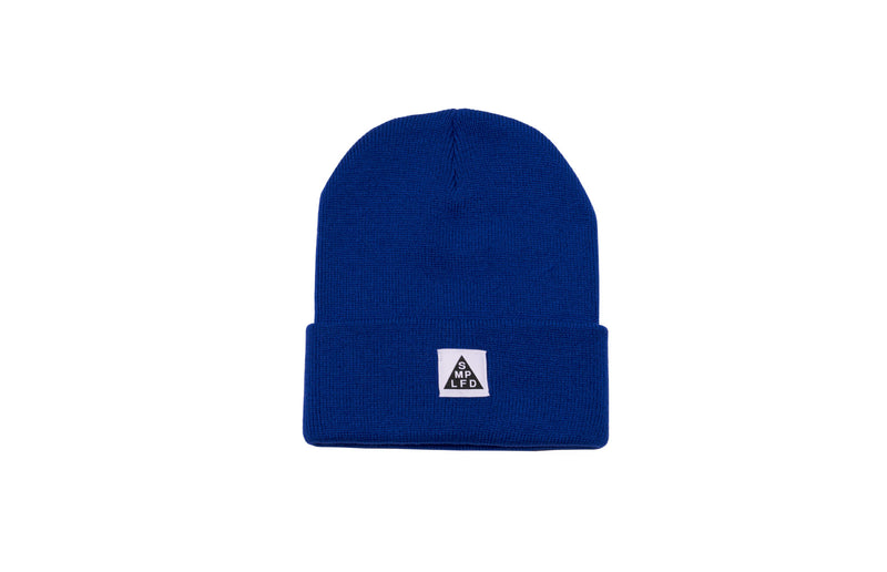 SMPLFD Woven Knit Beanie | Royal