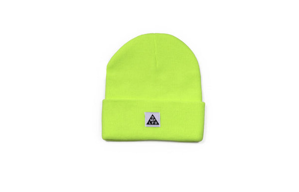 SMPLFD Woven Knit Beanie | Safety Green