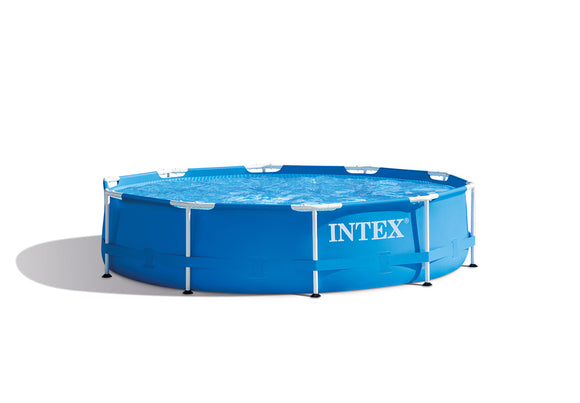 Intex Above Ground Swimming Pool with Filter Pump 10' x 30