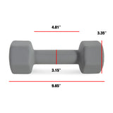 CAP Barbell Neoprene Dumbbell, Single 10 lbs