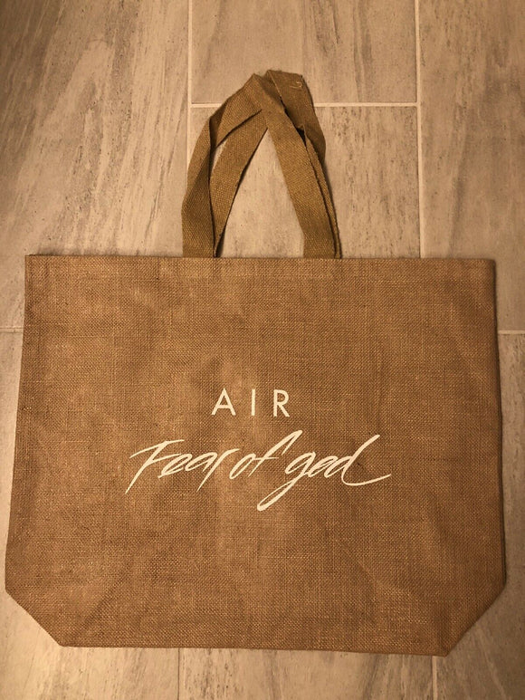Nike Air Fear Of God FOG Tote Bag
