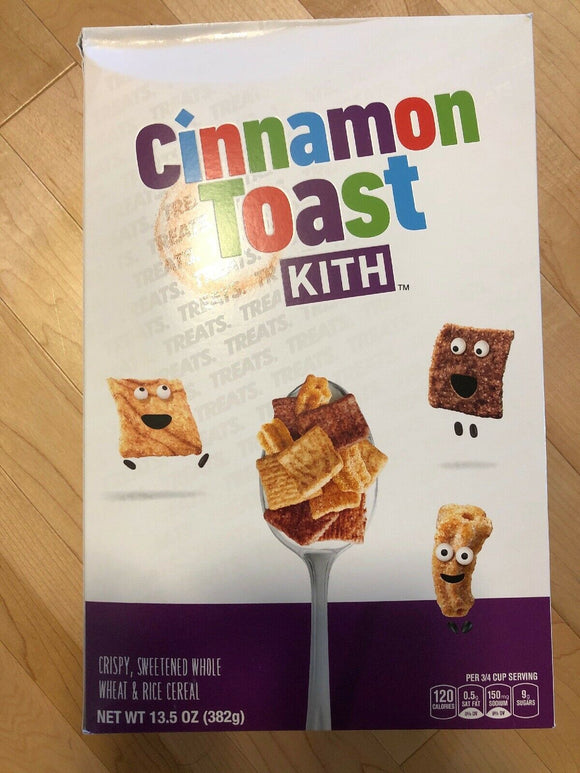 Kith Treats  X Cinnamon Toast Crunch Cereal in hand Ready To Ship