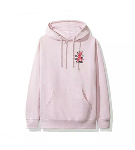 Anti Social Social Club ASSC Cancelled Pink Hoodie Hoody Small Red/Pink Cross