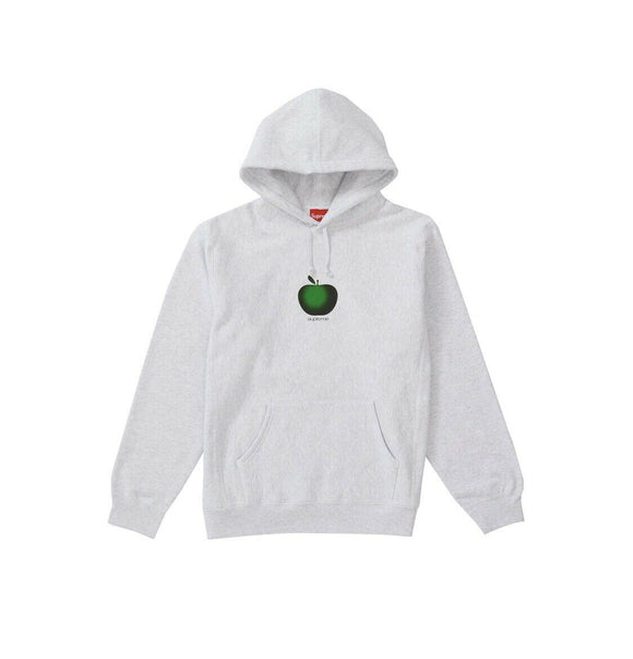 Supreme Apple Hooded Sweatshirt Ash Grey Hoodie