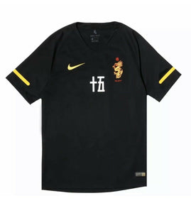 Nike x Clot Soccer Jersey Mens Size Small Black Tee JAPAN Nike Football