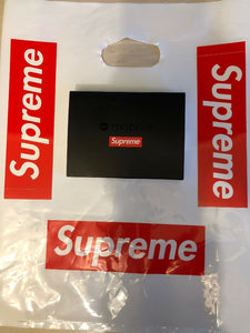 Supreme Mophie 10k Charger Black Micro USB with Stickers